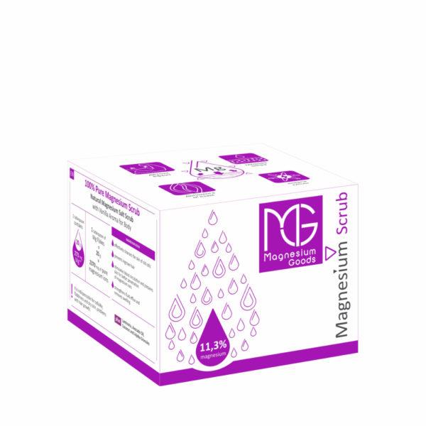 """Magneesiumiga tselluliidivastane kehakoorija """"Magnesium Scrub"""" 350ml"""