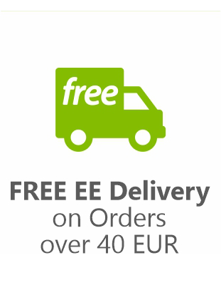 Free EE Delivery on orders over 40EUR